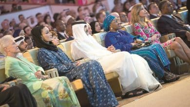 Father Amir, Sheikha Moza attend 4th WISH Summit