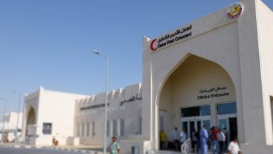 QRCS discusses ways to enhance cooperation with King Hussein Cancer Center